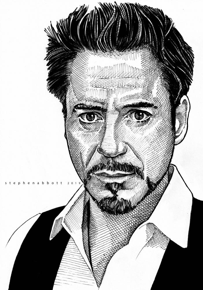 Robert Downey Jr by Stefanosart